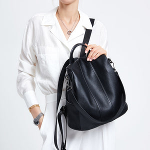 HOT ZOOLER genuine Leather backpacks bags women 2019 new super soft backpack for girl high quality luxury travel bag Bolsas#Z176 - thefashionique