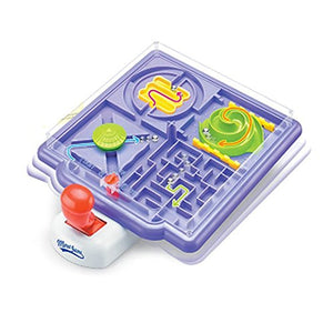 4 In 1 Maze Labyrinth Marble Maze Puzzle Game 3D Maze Racer Handheld Game Race Course Timing Birthday Holiday Present