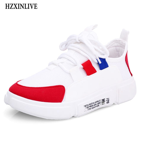 1fef888b49cd HZXINLIVE 2018 Autumn Woman Casual Shoes Sneakers Fashion Mixed Colors Flats  Ladies Vulcanized Shoes zapatos mujer