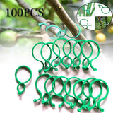 50/100 Pcs Plant Support Garden Clips Trellis for Vine Vegetable Tomato To Grow Upright Garden Plant Stand Tool