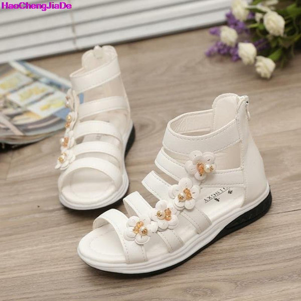 df1e2cf6b1d1b HaoChengJiaDe Summer Style Children Sandals Girls Fashion Princess Bea