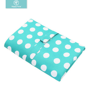 Happy Flute Waterproof Portable Baby Diaper Changing Mat Nappy Changing Pad Travel Changing Station Clutch Baby Care Products - thefashionique