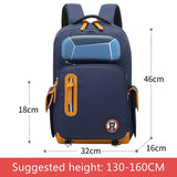 Creative Cartoon School Bag With Pencil Case Waterproof Multi-compartment School Backpack Large Capacity Children Bag