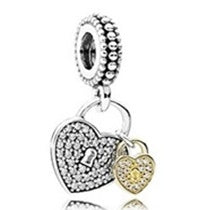 Heart snow pendent 925 silver for women small pendant charm DIY charm Good   quality original 1:1 Free shipping - thefashionique