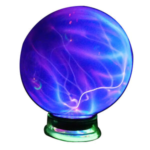 Durable Gifts Electrostatic Glass Home Decoration Plasma Ball Desktop Party Night Kids Light Bulb With Music Sphere Magic