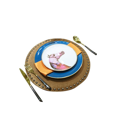 Horse Head Tableware / Diner Plates 7pcs Set