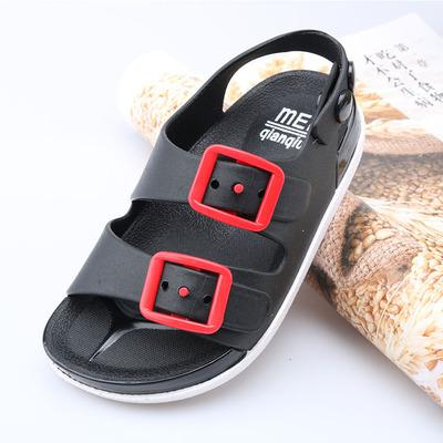 Hot New Boys Girls Sandals Children Baby Summer Beach Shoes For Kids Sports Soft Anti-slip Casual Toddler Leather Flat Sandals - thefashionique