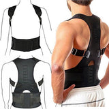 Hot Sale Adjustable Posture Support Brace Magnet Therapy Straps Back Neck Corrector Spine Support Brace DC88 - thefashionique