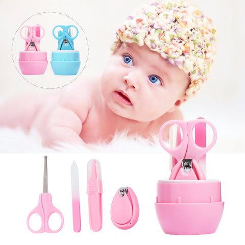 Hot Sale Child Baby Infant Finger Toe Nail Clipper Scissor Cutter Safety Manicure Set Baby Care Product