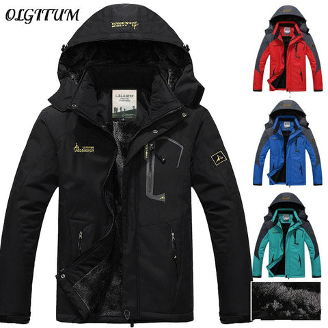 Hot sales 2018 new brand winter jacket men Plus velvet warm wind parka hooded winter coat plus size men winter coat