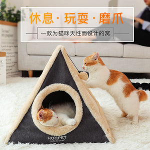 House Dog Beds For Large Dog Waterproof Cat House Pet Bed Cave Winter Pet Tent Cat Hot Houses Cueva Gato Pets Product JJ60MW