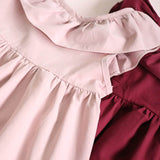 Hurave Summer 2018 New Casual Style Fashion Fly Sleeve Girls Bow Dress Girl Clothing For Children Cute Dresses - thefashionique