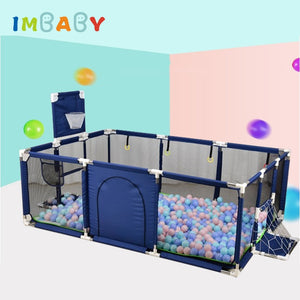 IMBABY Baby Playpen For Children Pool Balls For Newborn Baby Fence Playpen For Baby Pool Children Playpen Kids Safety Barrier - thefashionique
