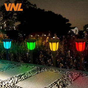 IP65 RGB Solar Lights Dancing  LED Outdoor Flickering Torches Lantern Waterproof for Garden Patio Yard Pool Wedding Decoration