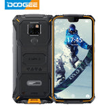 IP68 Waterproof DOOGEE S68 Pro Rugged Phone Wireless Charge NFC 6300mAh 12V2A Charge 5.9 inch FHD+ Helio P70 Octa Core 6GB 128GB