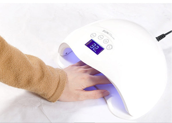 Induction Phototherapy Lamp 48W Nail Phototherapy Machine led Lamp Quick Drying Nail Dryer - thefashionique