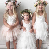 Infant Toddler Girls Dress Lace Cake Dresses Children Princess Backless Tutu Party Gown 1st Birthday Vestido Summer Clothes 1-6Y - thefashionique