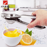 JINJIAN Kitchen Tools Lemon Squeezer Stainless Steel Orange Juicer Fruit Juice Reamers Fast Handle Press Multifunctional Tool - thefashionique