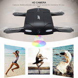 JJRC H37 Pocket Elife Fold Portable Photography Wifi FPV With 0.3MP Camera Phone Control Selfie RC Drones RTF Helicopter - thefashionique