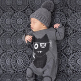 JKBBSETS New 2018 baby rompers baby boy clothing cotton newborn baby girl clothes long sleeve cartoon infant newborn jumpsuit - thefashionique