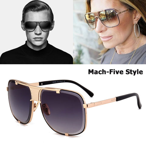 JackJad 2018 New Fashion Cool Mach Five Style Aviation Sunglasses Brand Design Metal Limited Edition Sun Glasses Oculos De Sol - thefashionique