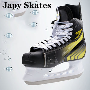 Japy Skate Black Dragon Ice Hockey Shoes Adult Child Ice Skates Professional Ball Knife Ice Hockey Knife Shoes Real Ice Skates