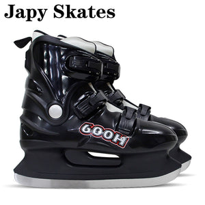 Japy Skates 600H Ice Skates Hard Boot Ice Hockey Shoes Adult Child Ice Skates Professional Hockey Knife Shoes Real Ice Skates