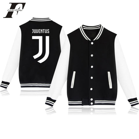 Juventus 2018 hit hop cotton Baseball jacket bomber jacket men women  Juventus tracksuit club Italy winter jacket coat