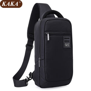 KAKA Men Oxford Crossbody  Chest Bag 2018 Casual Men Messenger Bag High Quality Waist Pack Messenger Bags Women D074 - thefashionique