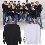 KPOP Korean Fashion SEVENTEEN 2018 JAPAN ARENA SVT Concert O-Neck Cotton Hoodies Pullovers Sweatshirts PT709 - thefashionique