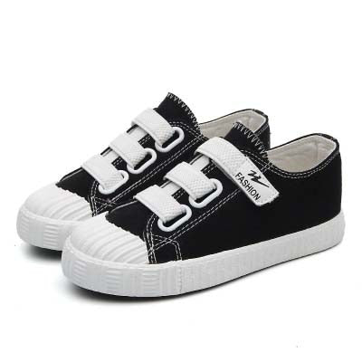 Kids Canvas Shoes 2019 New Spring Autumn Sports Children Shoes Breathable Casual Students Sneakers Boys Girls White Shoes - thefashionique
