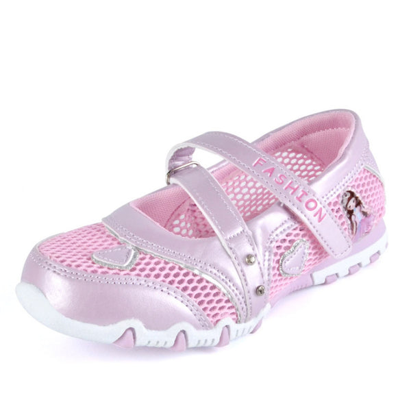 Kids Shoes 2018 Summer Breathable Mesh Children Shoes Single Net Cloth Sports Sneakers Girls Casual Sandals Baby Girls Shoes - thefashionique