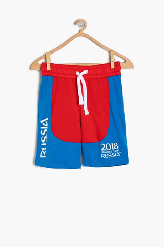 Koton kids Red Male Child World Cup 2018 Printed Sort
