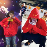 Kpophome New GOT7 Jackson The same BF Style unisex Oversize Pullover Autumn and Winter Long sleeve hoody Sweatershirt with hat - thefashionique