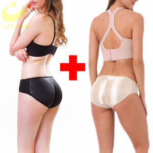 LAZAWG Butt Lifter Hip Enhancer Pads Underwear Shapewear Padded Control Panties Shaper Booty Fake Pad Briefs Boyshorts FAJAS