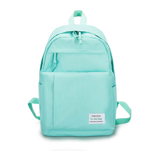 Large Capacity Women Backpack Preppy School Bags For Teenagers Female Canvas Travel Bags Girls Bowknot Backpack Mochilas kanken - thefashionique