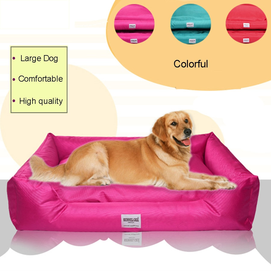 Large Pet Bed Dogs Cat Bed House Warm Small Kennel Puppy Houses Gatos Winter Dog Bed Honden Mand Mattress Cushion Plush DD6GW