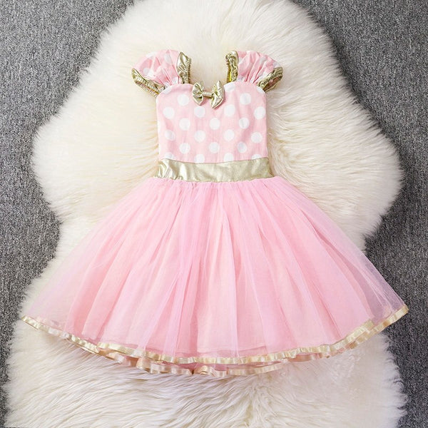 Little Girl Dresses for Christmas Party Infant Baby Clothing Christmas Kids girl Princess Dress Sequined vestido infantil 1-5yrs - thefashionique