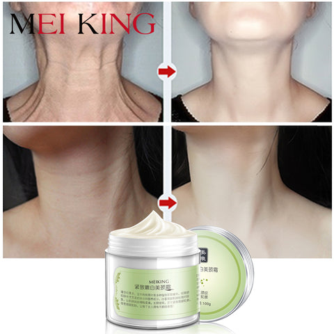 MEIKING Neck Cream Skin Care Anti wrinkle Whitening Moisturizing Firming Neck Care 100g Skincare Health Neck Cream For Women - thefashionique
