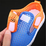 MHYONS Children Shoes Girls Boys Casual Shoes Summer Fashion Candy Color Breathable Mesh Kids sandals Shoes Boys Girls Sneakers - thefashionique