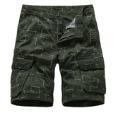 MORUANCLE Men's Casual Work Cargo Shorts With Multi Pockets Summer Tactical Short Pant For Male Beach Shorts Military Style