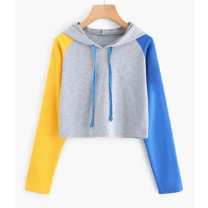 MRMT Brand New Women's Hoodies Sweatshirts Long Sleeve Color Matching Pullover