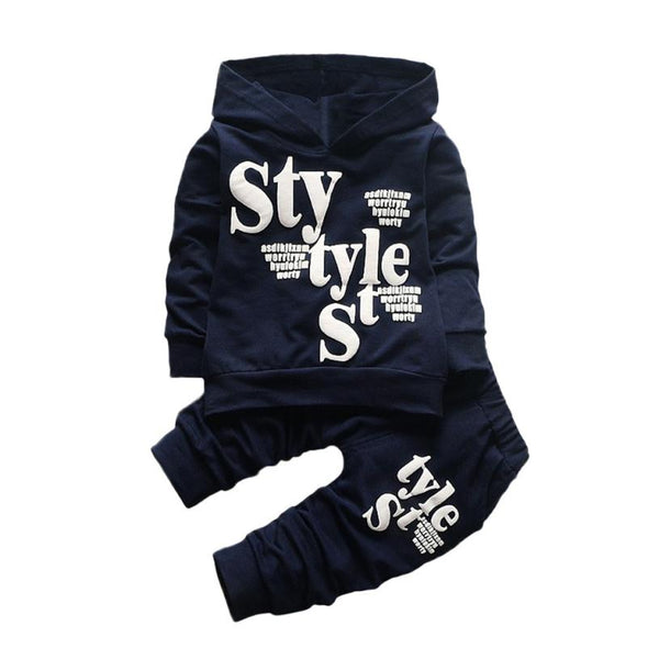35f260317c24f MUQGEW Fashion baby boy clothes set 2PCS Letter Print Top Clothes+Long  Pants Winter clothes for baby toddler boys clothing #40
