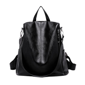 Maison Fabre Backpack female School Backpack Anti-theft Backpacks Casual Wild Soft Leather Dual-use Drop shipping CSV   O1225#25 - thefashionique