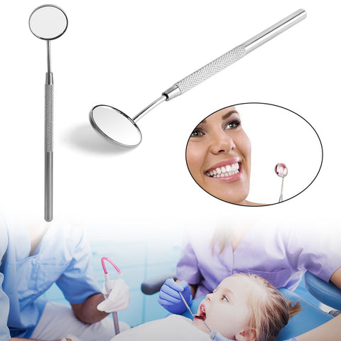 Makeup mirror for checking eyelash extension stainless steel dental mirror Removable Makeup tools Comestic Accessories