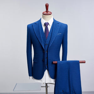 MarKyi new arrival mens suits designers 2018 good quality double button men's wedding groom suits plus size 4xl - thefashionique