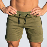 Men Gyms Fitness Bodybuilding Cotton Shorts 2018 New Boy Casual Fashion Short Pants Male Jogger Workout Skinny Brand Sweatpants - thefashionique