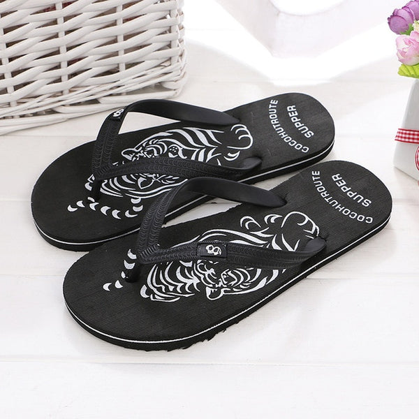 Men Slippers Summer Shoes Sandals Fashion Hot Sale Male Slippers indoor & outdoor Beach Flip Flops Comfortable Shoes Size 40-44 - thefashionique