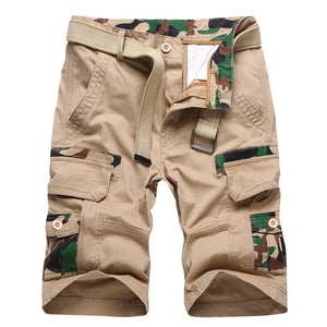 Men plus size Cargo Shorts casual Cotton shorts Summer 2019 male streetwear Brand Clothing Comfortable Camo man's Short Pants