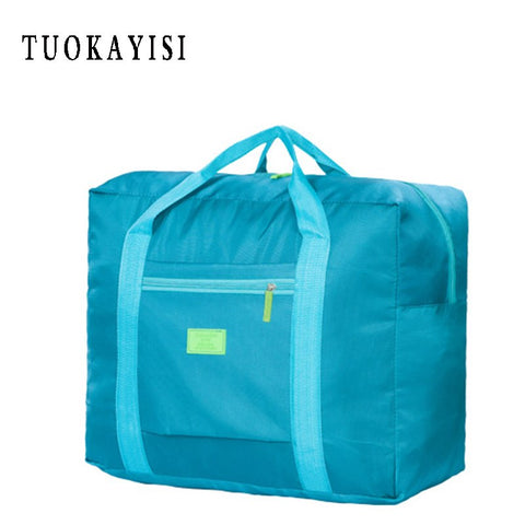 Men's Women Functional Large Casual Travel Bags pink Women Handbags High Quality Clothes Luggage Storage Packing Cubes Organizer - thefashionique